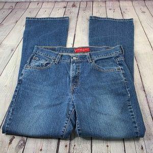 Levi's 515 Nouveau Boot Cut Stretch Jeans Size 10M